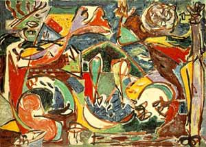 Abstract Expressionist Art Pollock
