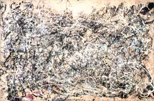 Jackson Pollock's Number 1, 1948