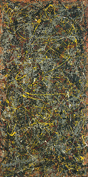 Jackson Pollock's Number 5, 1948